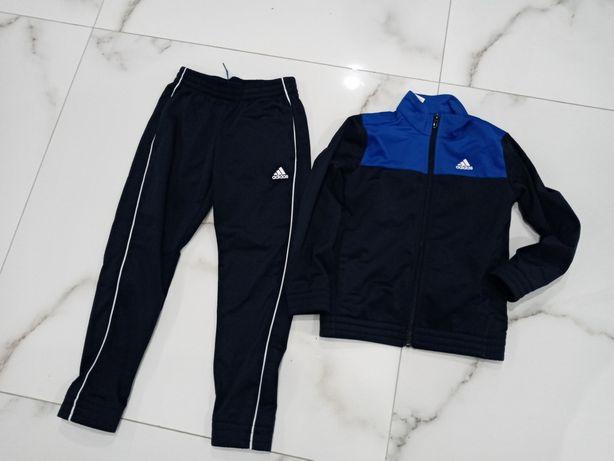 Komplet do gimnastyki sportowy DRES  Adidas 128