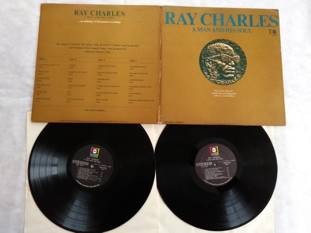 Ray Charles -A Man And His Soul-LP-USA