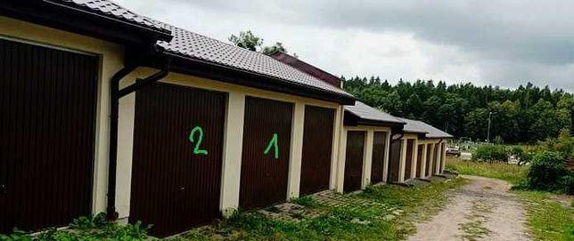 Garaż murowany dach dwuspadowyz kanałem rewizyjnym podwyższony Okazja!