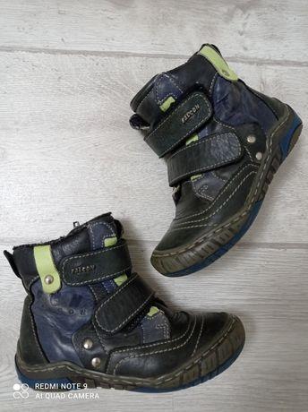 Ботинки Кожа 28 размер 18 см