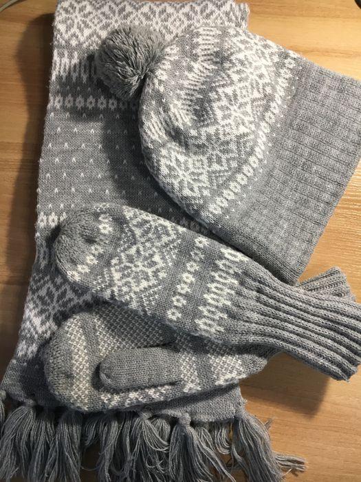 Шапочка, шарфик и варежки Остин Кривой Рог - изображение 1