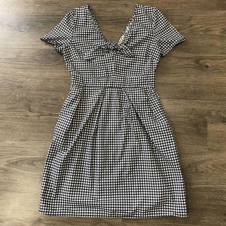 Платье в клетку NafNaf