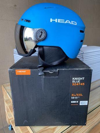 Kask narciarski z blędą HEAD 58-61