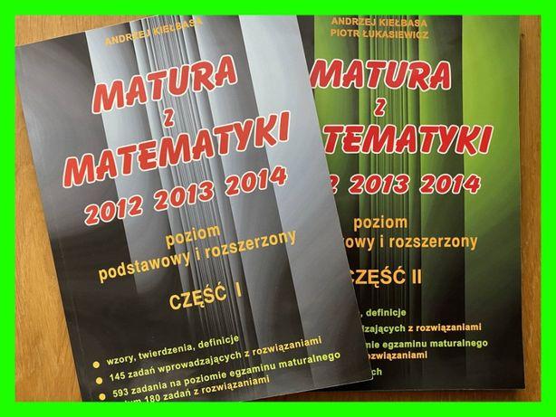 Matura z matematyki 2012, 2013, 2014 - Część I i II - Andrzej Kiełbasa