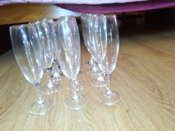 Flutes champagne ou vinho branco conjunto de 12