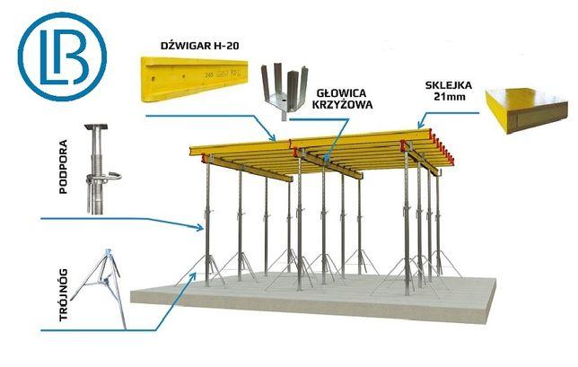 Wynajem szalunków stropowych- system szalunkowy- HDS+PROJEKT+AKCESORIA