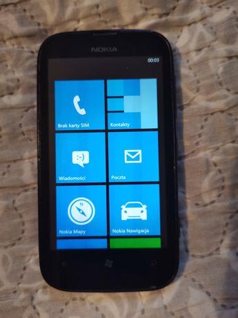 Nokia Lumia 510 czerwony Orange, nju mobile