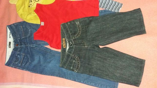 Пакет одежды на девочку (шорты капри) 158 рост
