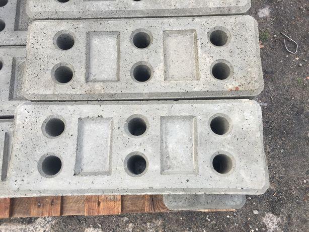 Stopa betonowa, ogrodzenie tymczasowe budowlane podstawy