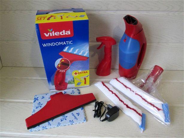 Vileda. Вакуумный очиститель для стекол