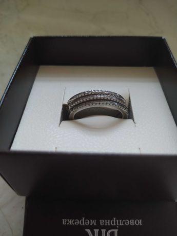 Комплект из трёх колец серебро