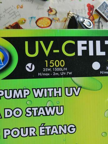 Filtr pompa plus lampa UV