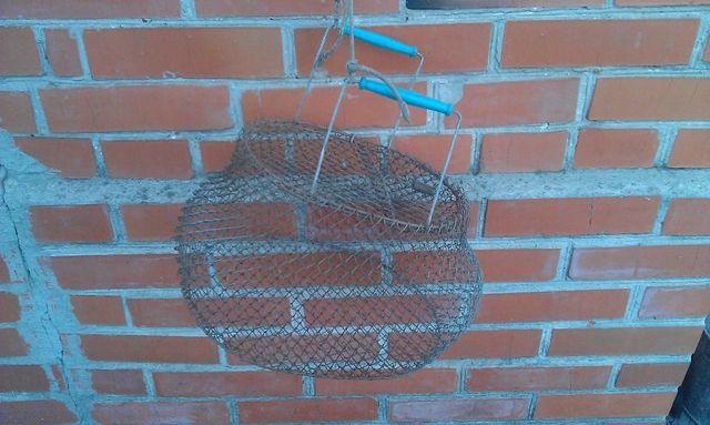 металлический садок для рыбы производства ссср