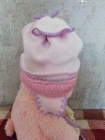 Шапка весняна, шапочка на весну 48-52розмір