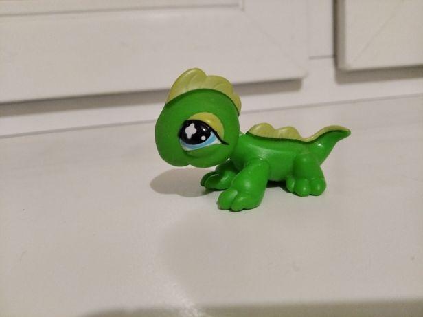 Hasbro littlest pet shop,lps оригінал 2007р. Гекон