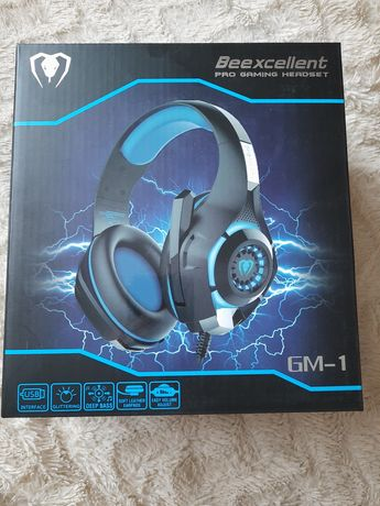 Nowe słuchawki gamingowe Beexcellent GM-1