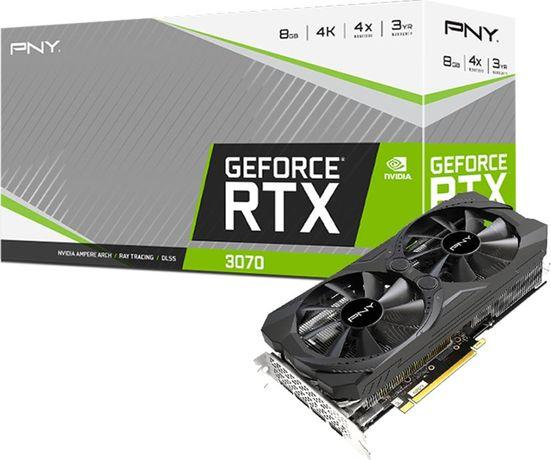 Karta graficzna PNY Technologies GeForce RTX 3070 Uprising 8GB GDDR6