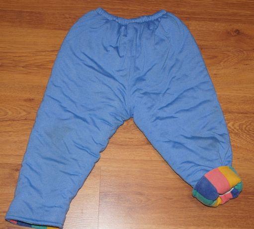 Spodnie zimowe ciepłe rozn ok 80/86 12-18 miesięcy