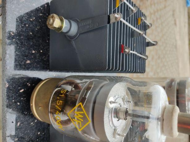 VINTAGE lampy gazowe prostownik selenowy jedyny zestaw w RP