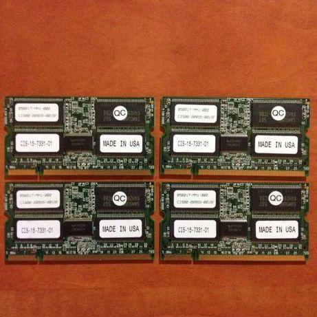 Memórias CISCO 128MB SoDIMM