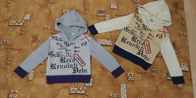 Два свитера р.98 +. Стильный зимний свитер, теплый свитер