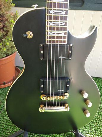 Gitara elektryczna Les Paul Vig Goth, klucze Grover,Jackson pickups
