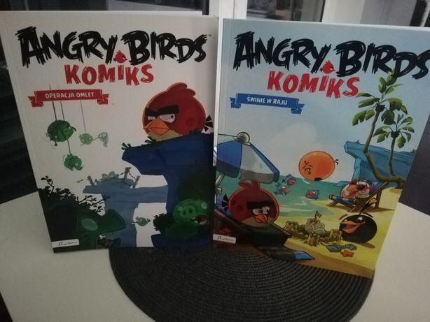 Zestaw Angry Birds Komiks Operacja Omlet, Świnia w Raju