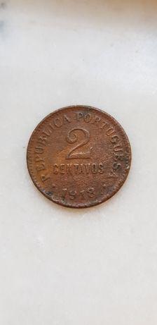 Moeda de 2 centavos 1918