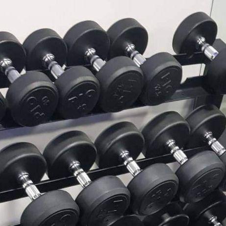 halteres novos!super preço!máquinas novas,usadas!musculação,ginasio