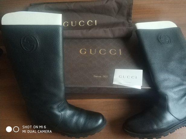 Сапоги  ботинки туфли Gucci  оригинал