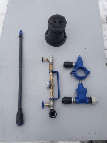przyłącze wody, instalacja wodociągowa