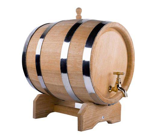 ANTAŁEK Dębowa beczka 10L kranik drewniany na bimber whisky wino