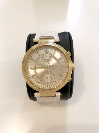 SPRZEDAM oryginalny zegarek Versace Versus złoty biały prezent