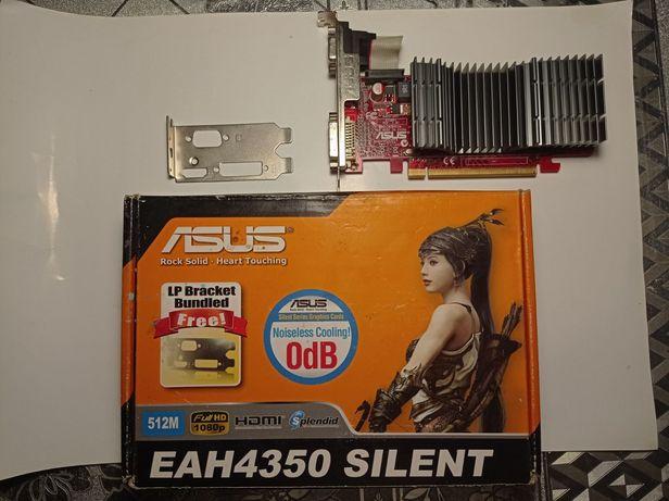Asus PCI-Ex Radeon HD4350 512MB GDDR2 (64bit) (600/800)