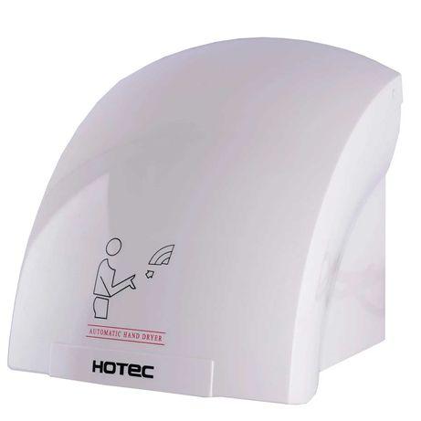 Акція! Рукосушка в ванну настінна HOTEC 11.302 ABS White 1800Вт білий