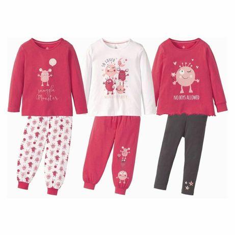 Пижама для девочек и мальчиков Германия 86-116 см