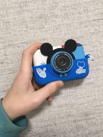 Детский цифровой фотоаппарат Мики Маус с селфи камерой