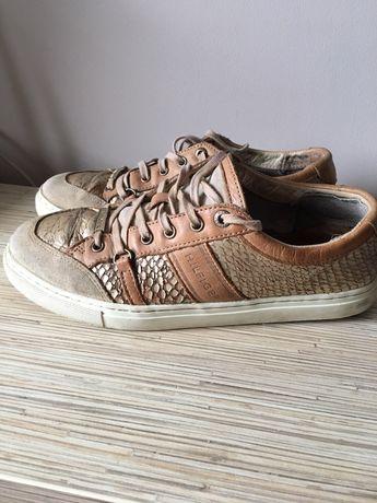 Buty Tommy Hilfiger r 38 skóra naturalna, adidasy, sneakersy