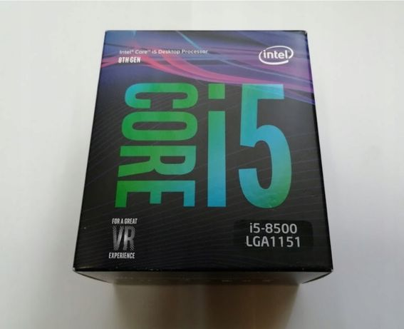 Intel i5-8500 z GPU/BOX ( odpowiednik i5-9400 )