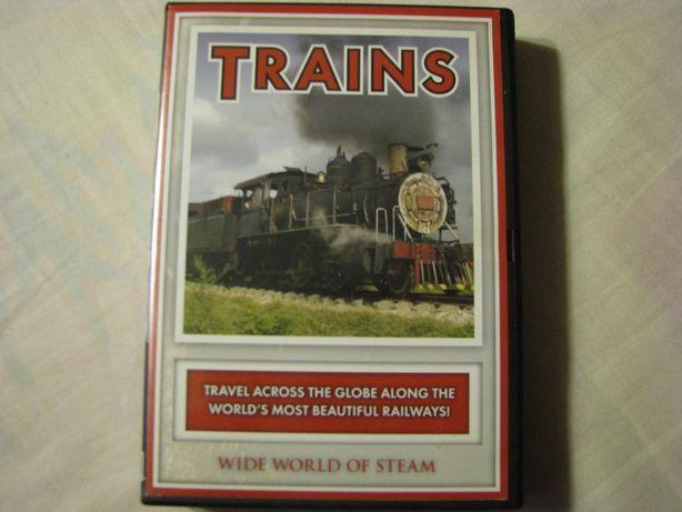 Trains DVD. Parowozy w ruchu pasażerskim na świecie