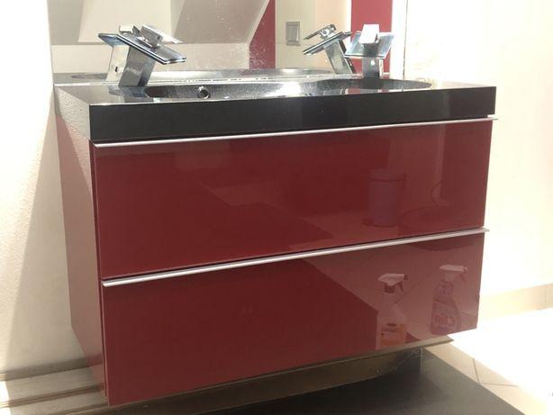 Szafka Godmorgon z umywalką Bredviken Ikea - 100/47/58+baterie i syfon