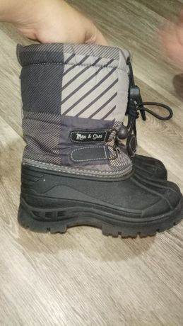 Зимние термо ботинки Maui & Sans 28 рр 18 см