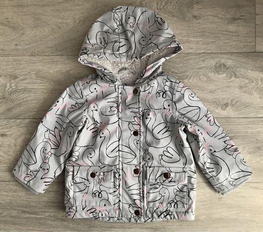 Плащ демисезонная куртка george 12-18 мес