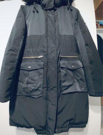 Dłuższa puchowa kurtka Tommy Hilfiger