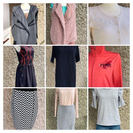 WYSYŁKA 1 ZŁ/swete kardigan bluzka sukienka spódnica spodnie 36/38 S/M