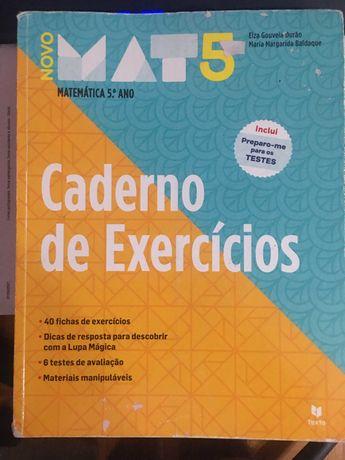 Novo Mat 5 - Matemática - 5º Ano - Caderno de Atividades oferta portes