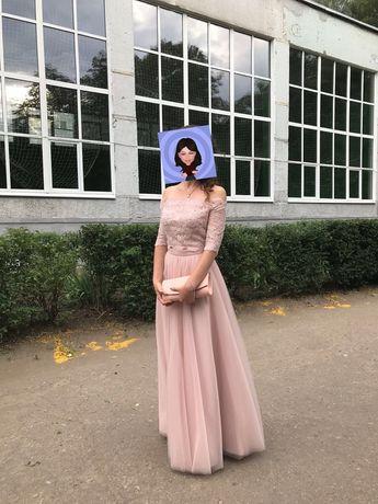 Выпускное платье-топ и 2 юбки