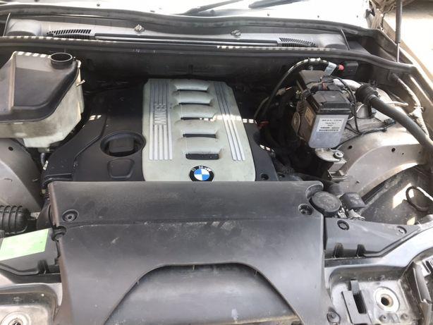 Двигатель патрубок X5 интеркулер БМВ Е53 турбина 3.0d M57N