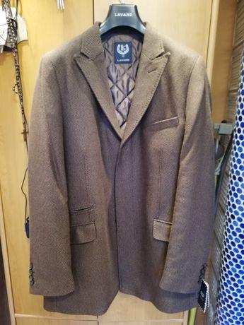 Płaszcz męski, brązowy ROZMIAR 110