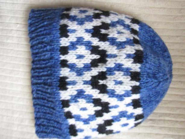 шапка вязаная из итальянской пряжи